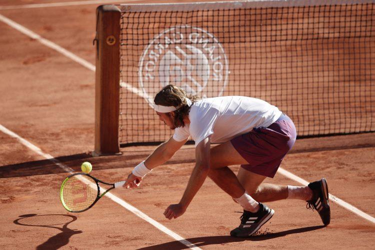 Stefanos Cicipas, Rolan Garos, tenis