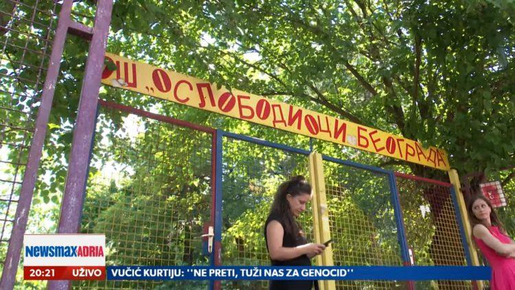 Škola oslobodioci Beograda, Šta kad škola ne dozvoljava besplatne udžbenike, prilog, emisija Pregled dana