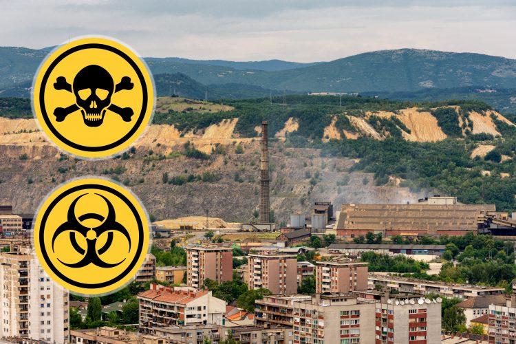 Bor, biohazard, otrov