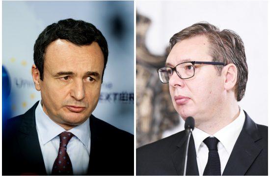 Albin Kurti, Aleksandar Vučić kombo