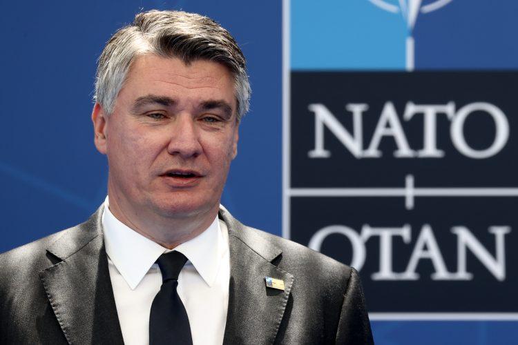 Zoran Milanović nato samit