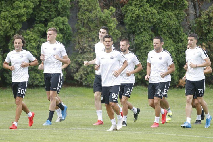 Fudbaleri Partizana počeli pripreme za novu sezonu