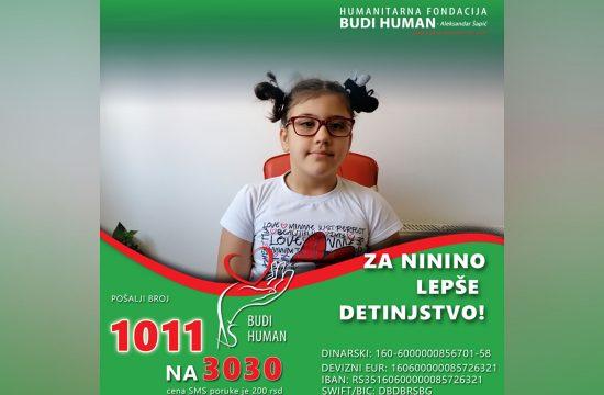 Nina Perišić, Čačk, pomoć, humanitarna pomoć, lečenje