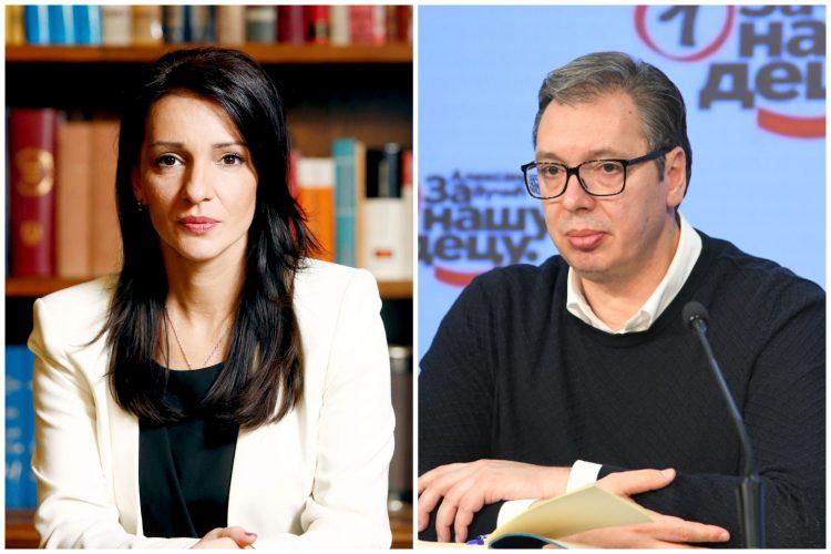 Marinika Tepić, Aleksandar Vučić