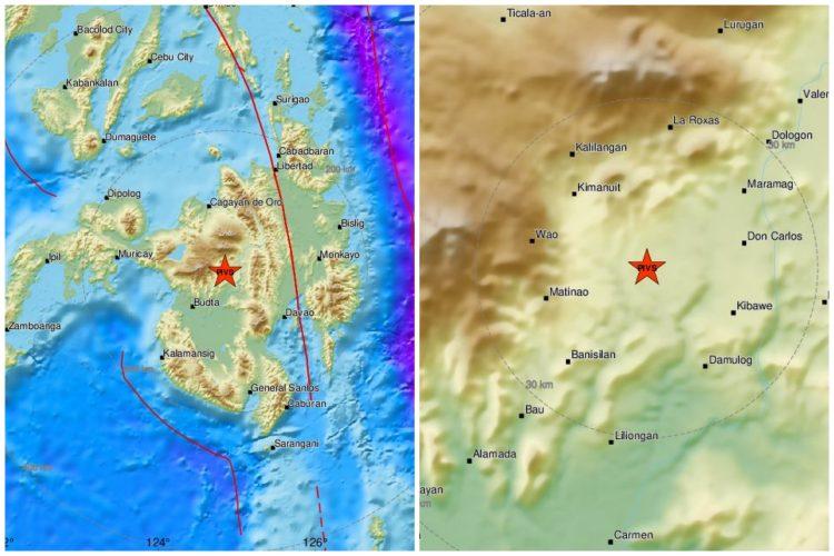 Filipini, zemljotres