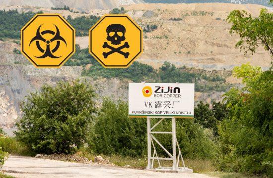 Bor, biohazard, otrov, Ziđin