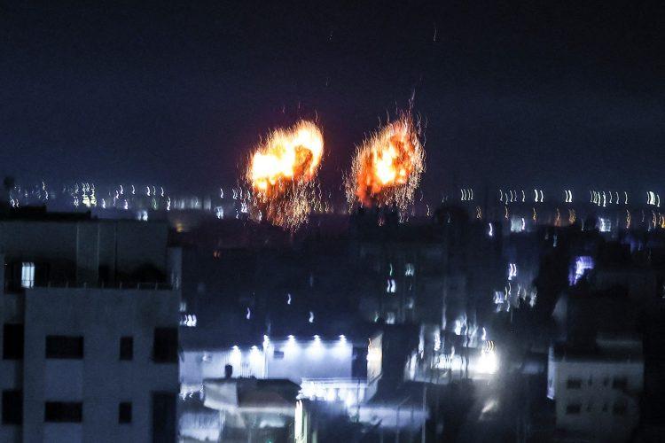 gaza bombardovanje