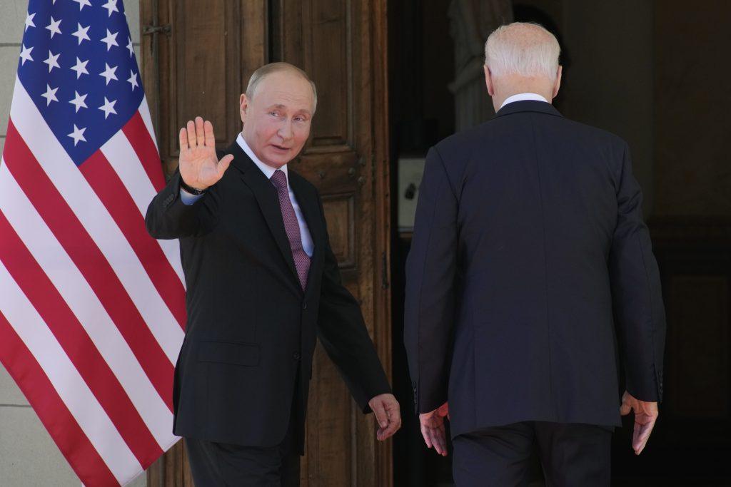 Švajcarska, Ženeva, Džo Bajden, Vladimir Putin
