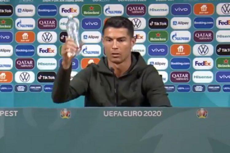 Ronaldo sklonio koka-kolu pale akcije koka kole