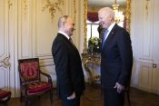 Vladimir Putin Joe Biden Dzo Bajden