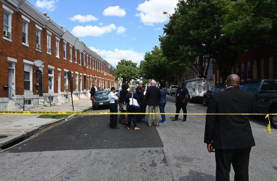 Baltimor pucnjava policija