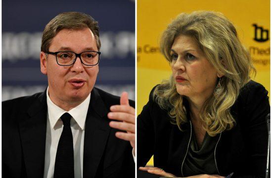 Aleksandar Vučić, Radmila Dragičević Dičić