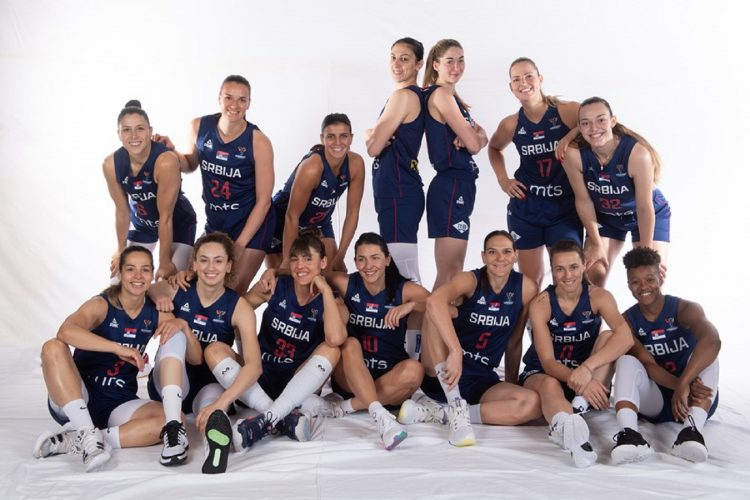 Košarkašice Srbije počinju Evrobasket