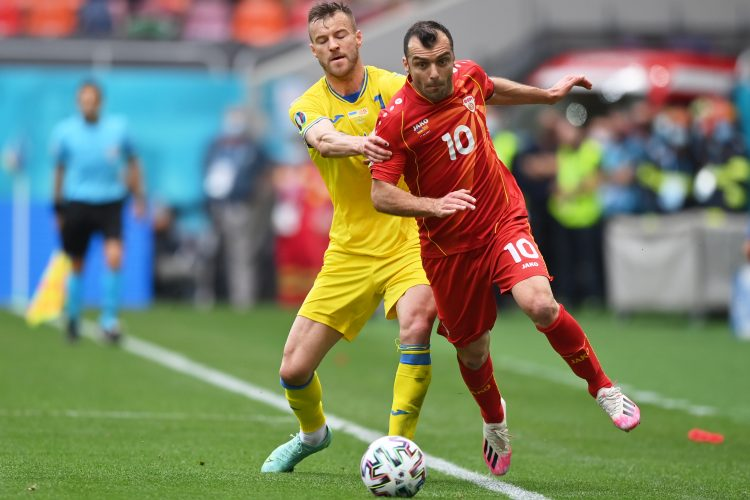 Goran Pandev, Fudbalska reprezentacija Severne Makedonije, Ukrajine