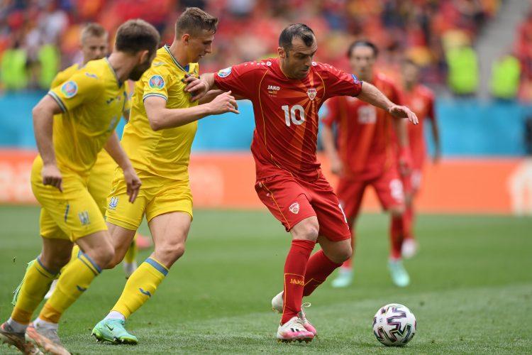 Group C Ukraine vsGoran Pandev, Fudbalska reprezentacija Severne Makedonije, Ukrajine North Macedonia