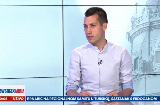 Dobrica Veselinović, gost, emisija Pregled dana