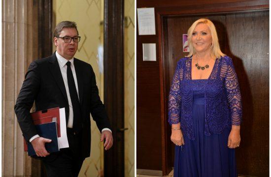 Aleksandar Vučić, Merima Njegomir