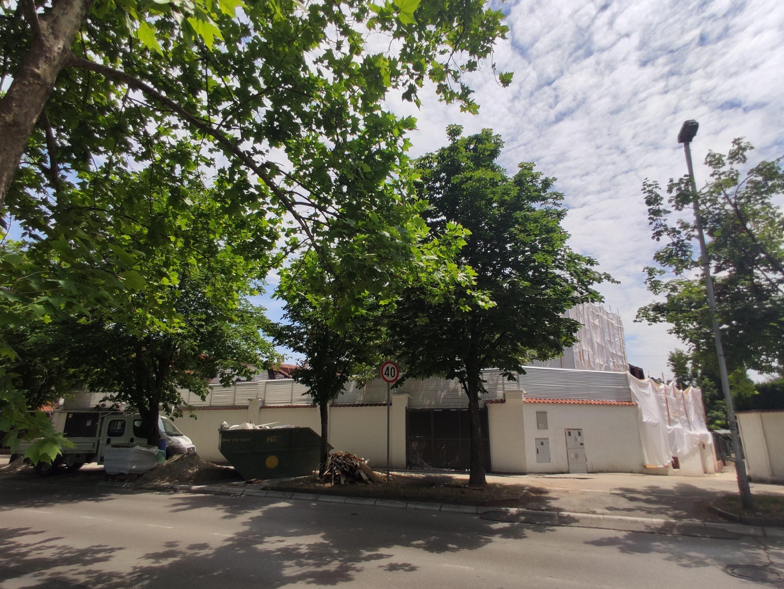 Aleksandar Šapić, kuća