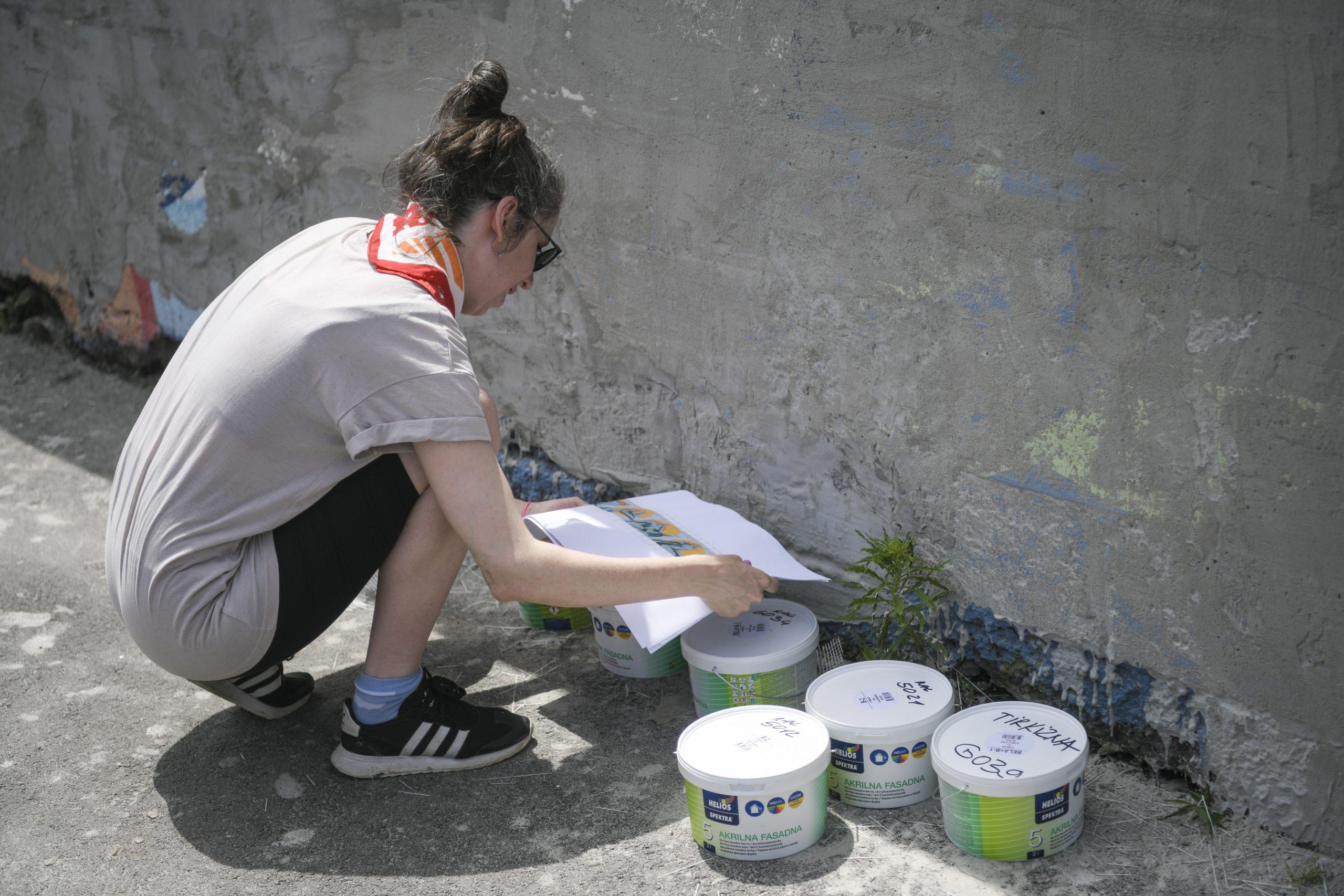 Dorćol plac, Dorćol platz, All Girls Street Jam, oslikavanje zidova, mural, murali, umetnici