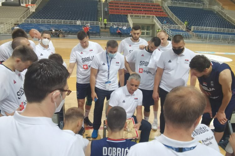 Igor Kokoškov, Košarkaška reprezentacija Srbije