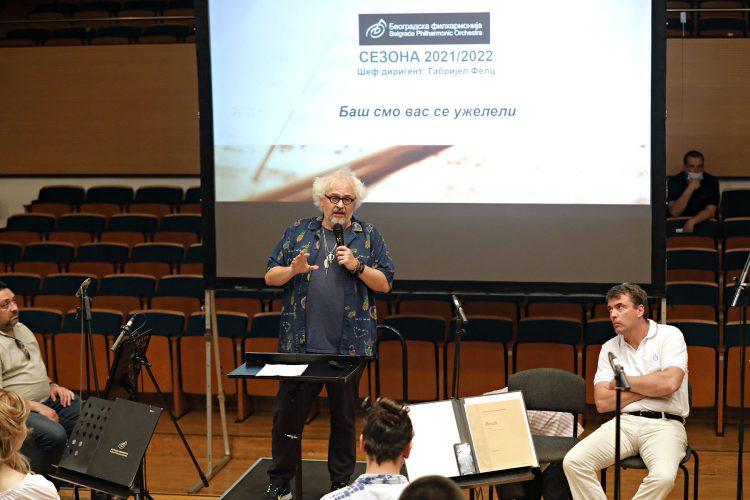 """Nova filharmonijska sezona """"Baš smo vas se uželeli!"""" Beogradska filharmonija"""