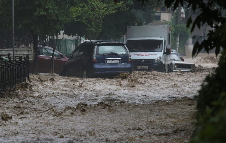 Krim poplava