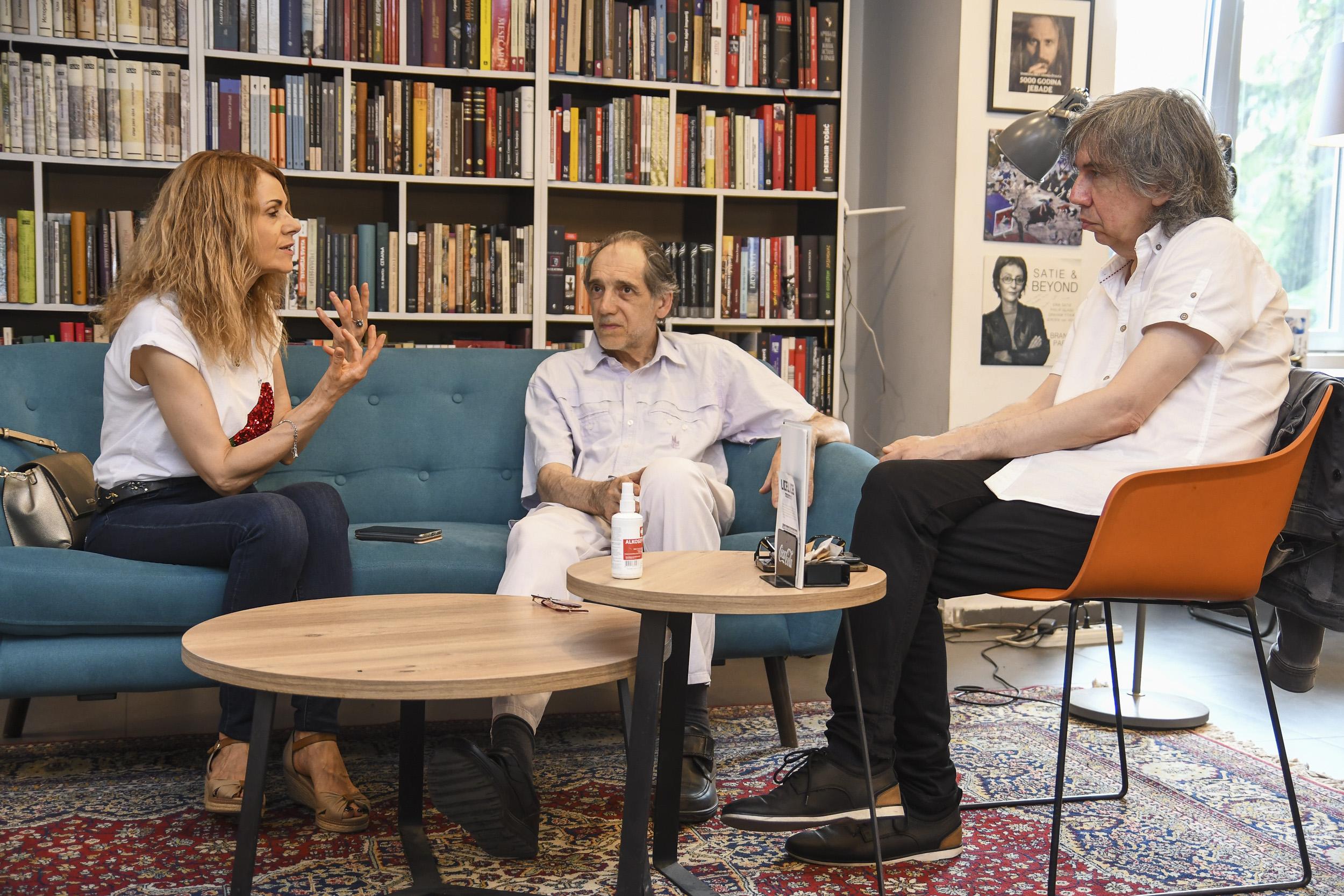 Zorica Kojić, Slobodan Tišma, pisac, Dragan Ambrozić, intervju