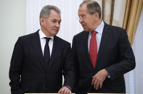 Sergej Lavrov, Sergej Šojgu