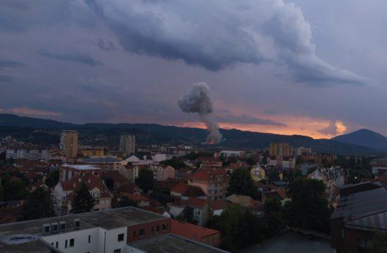 Čačak, fabrika, Sloboda, eksplozija