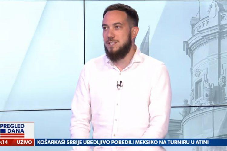 Nebojša Todorović, gost, emisija Pregled dana