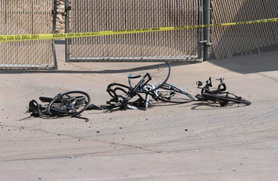 Biciklista, nesreća, Amerika, Feniks