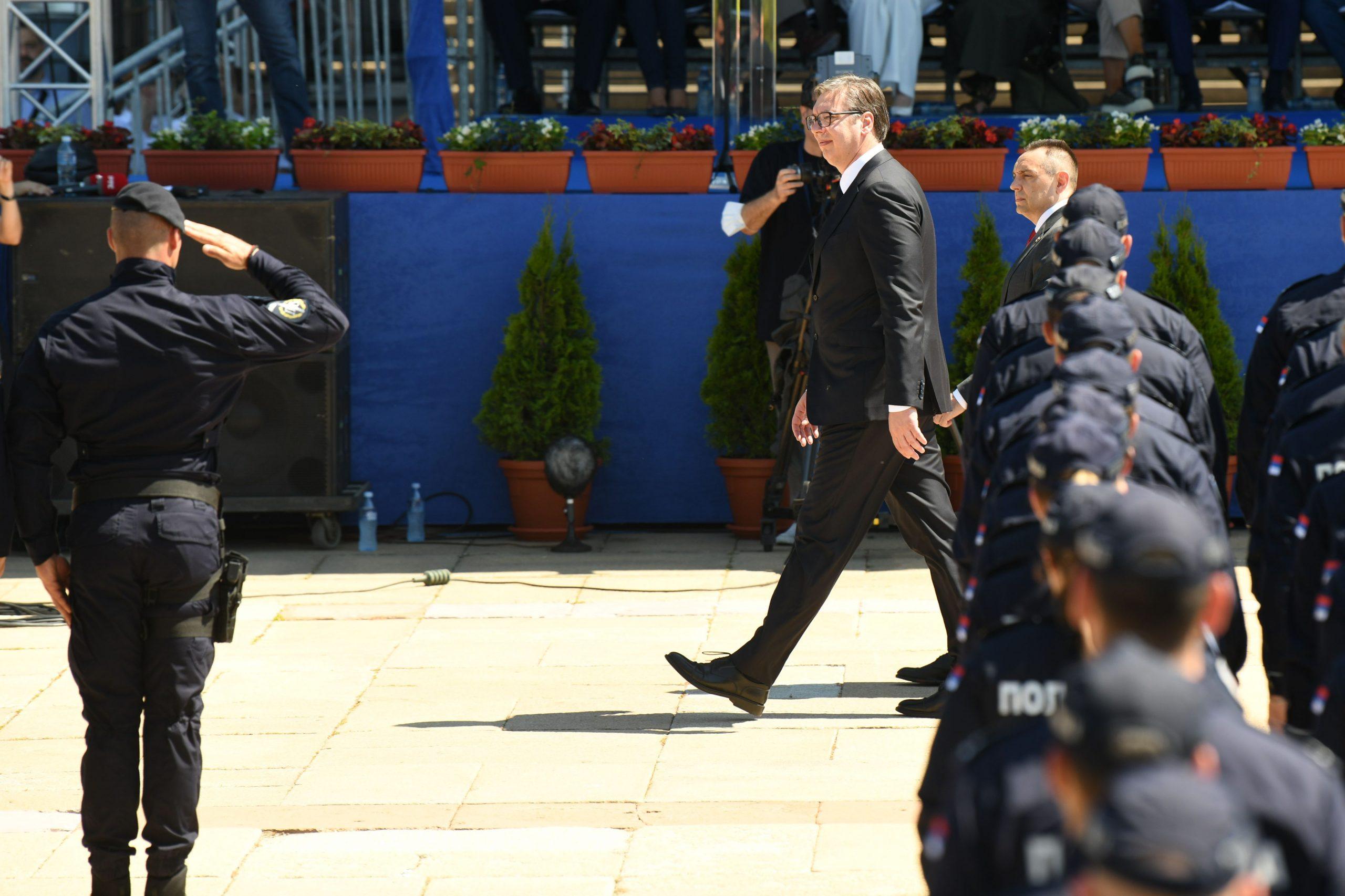 Aleksandar Vucic i Aleksandar Vulin Dan policije i Dan Ministarstva unutrasnjih poslova