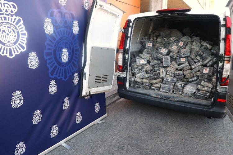 Spanija Granada droga zaplena