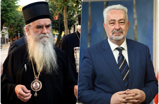 Amfilohije Radovic i Zdravko Krivokapic