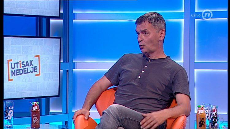 Aleksandar Jovanović Ćuta, emisija Utisak nedelje