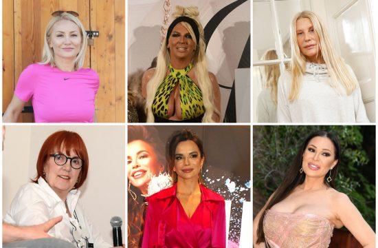 Goca Tržan, Jelena Karleuša, Verica Rakočević, Vedrana Rudan, Severina, Ceca Ražnatović