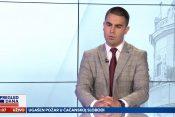 Vlade Radulović, vojni komentator, gost, emisija Pregled dana