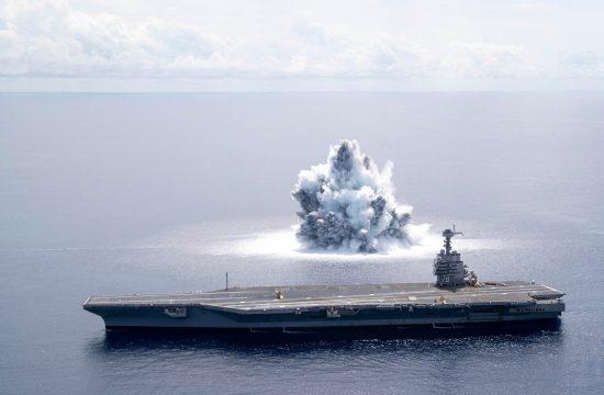 Ratna mornarica SAD detonirala bombu od 18 tona bomba US Navy