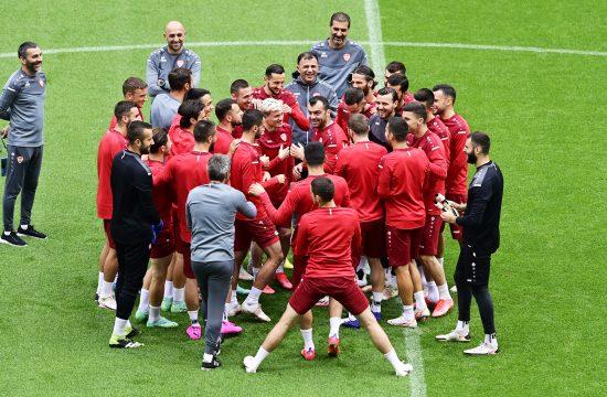 Zuce i poslednji trening Gorana Pandeva u reprezentaciji Severne Makedonije