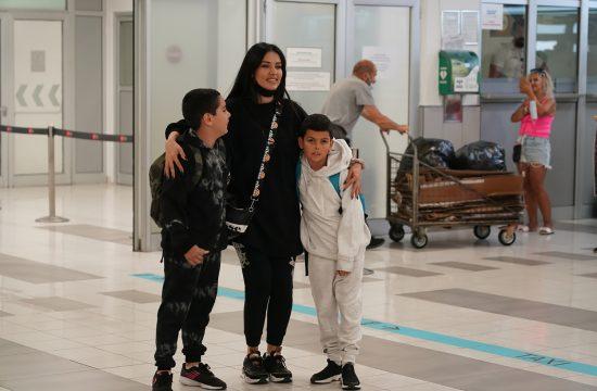 Tanja Savić sa svojom decom