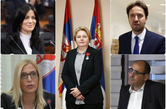 Zagorka Dolovac, Maja Popovic, Aleksandar Stepanovic, Vladimir DJukanovic, Jasmina Vasovic