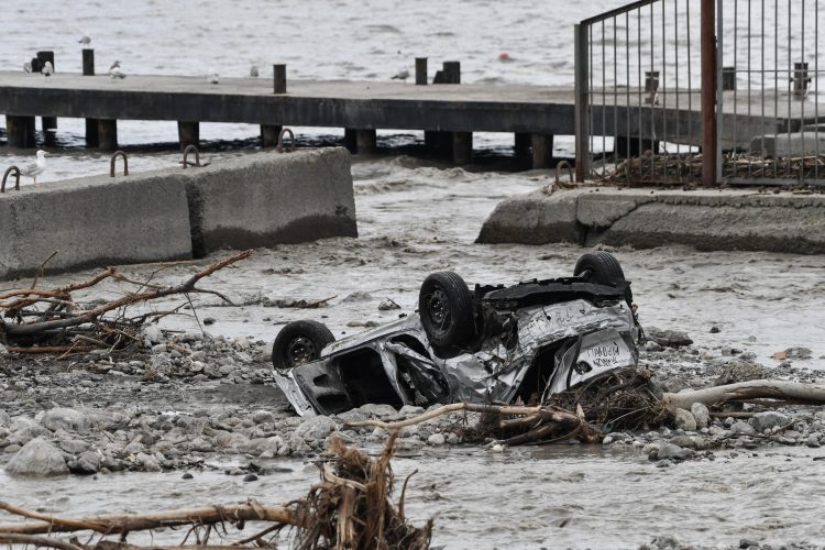 Jalta, Krim poplava,