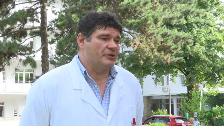 Dr Vladan Vukomanović, načelnik Kardiologije KBC Dr Dragiša Mišović