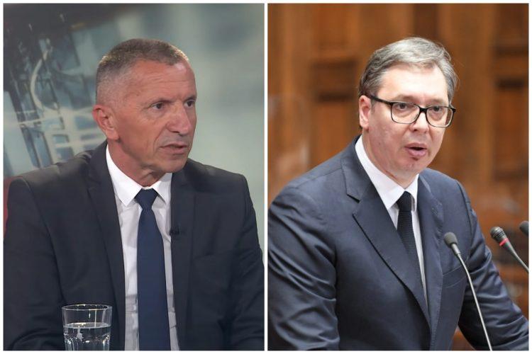 Šaip Kamberi, Aleksandar Vučić