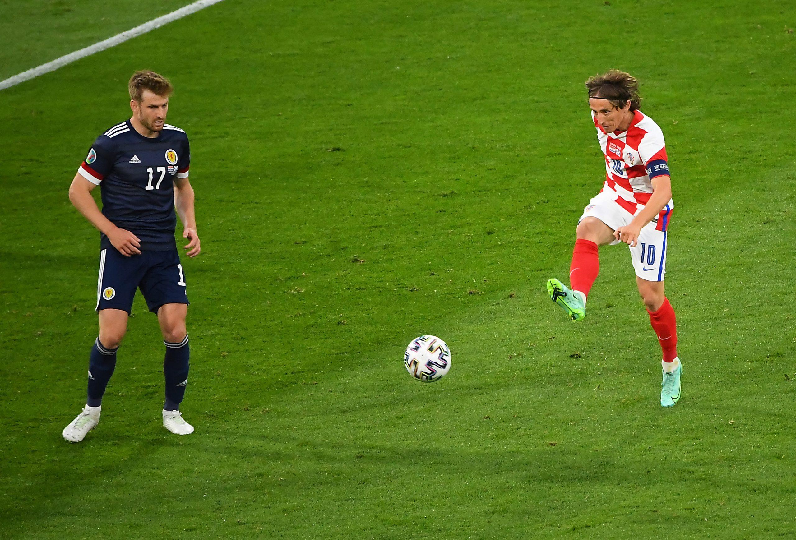 Luka Modrić, Fudbalska reprezentacija Hrvatske