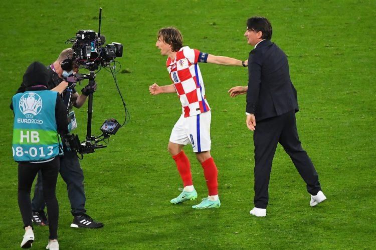Zlatko Dalić i Luka Modrić, Fudbalska reprezentacija Hrvatske