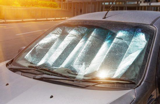 automobil, vrelina, klima