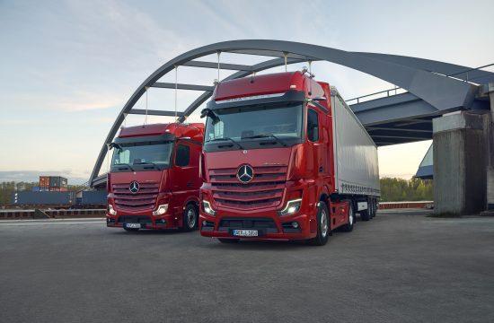 Mercedes, Actros L