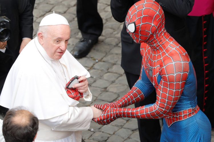 Papa i Spajdermen