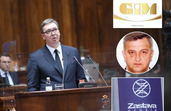 Vučić, Tešić, Gim, Zastava oružje